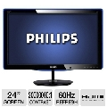 МониторыPhilips E-line 247E3LPHSU/00 (LED) Black